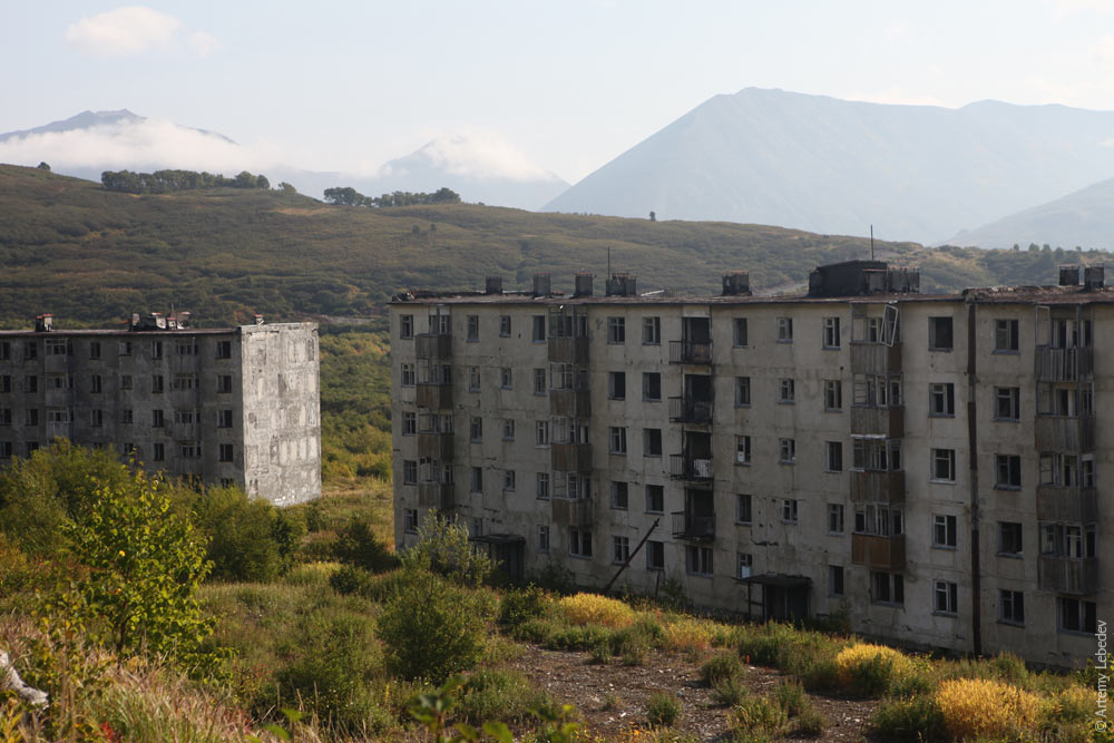 Abandoned buildings of Kamchatka