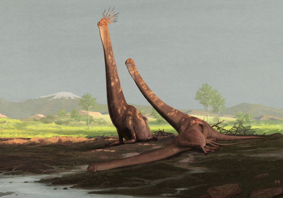 All Yesterdays - Giraffatitan