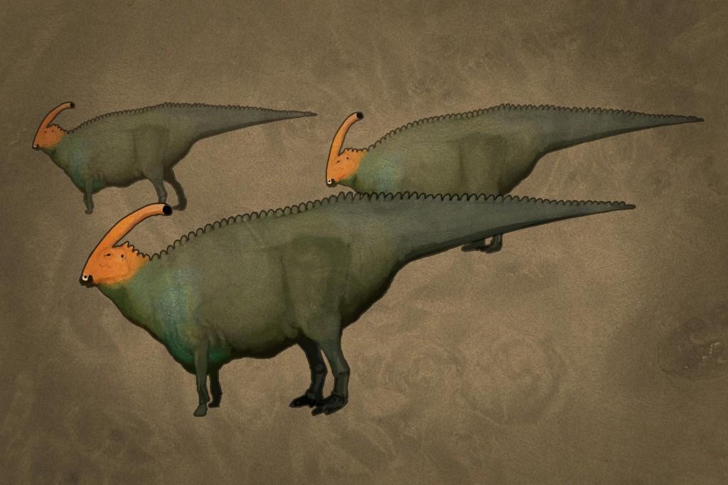 All Yesterdays - Parasaurolophus