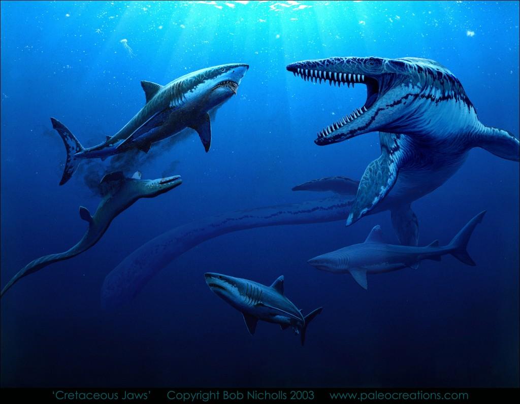 Bob Nicholl - cretaceous jaws
