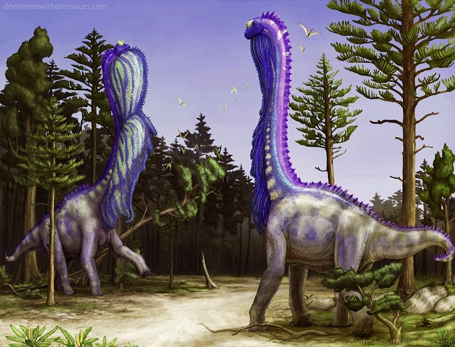 Brachiosaurus incredible display sack