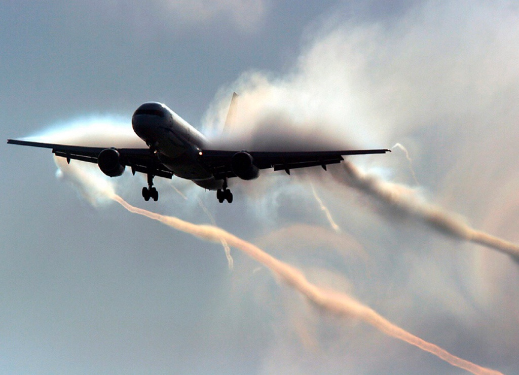 Chemtrail turbulence