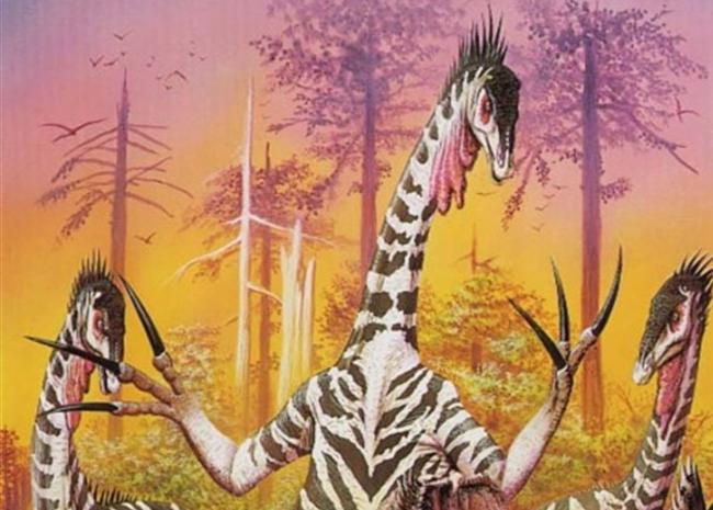 Dinosaur-Weirdest-Strangest-Coolest-Therizinosaurus-Artist-Impression