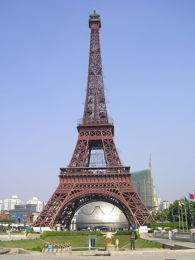 Eiffel Tower Replicas - China - Window of the World
