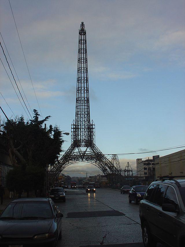 Eiffel Tower Replicas - Guatemala - LaTorreDelReformador