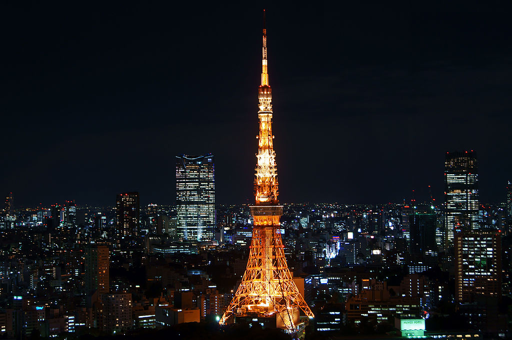 Eiffel Tower Replicas - Japan - Tokyo Tower