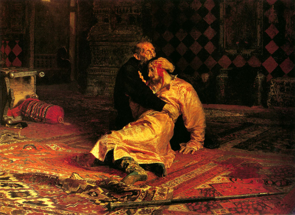 Ilya Repin - Ivan The Terrible