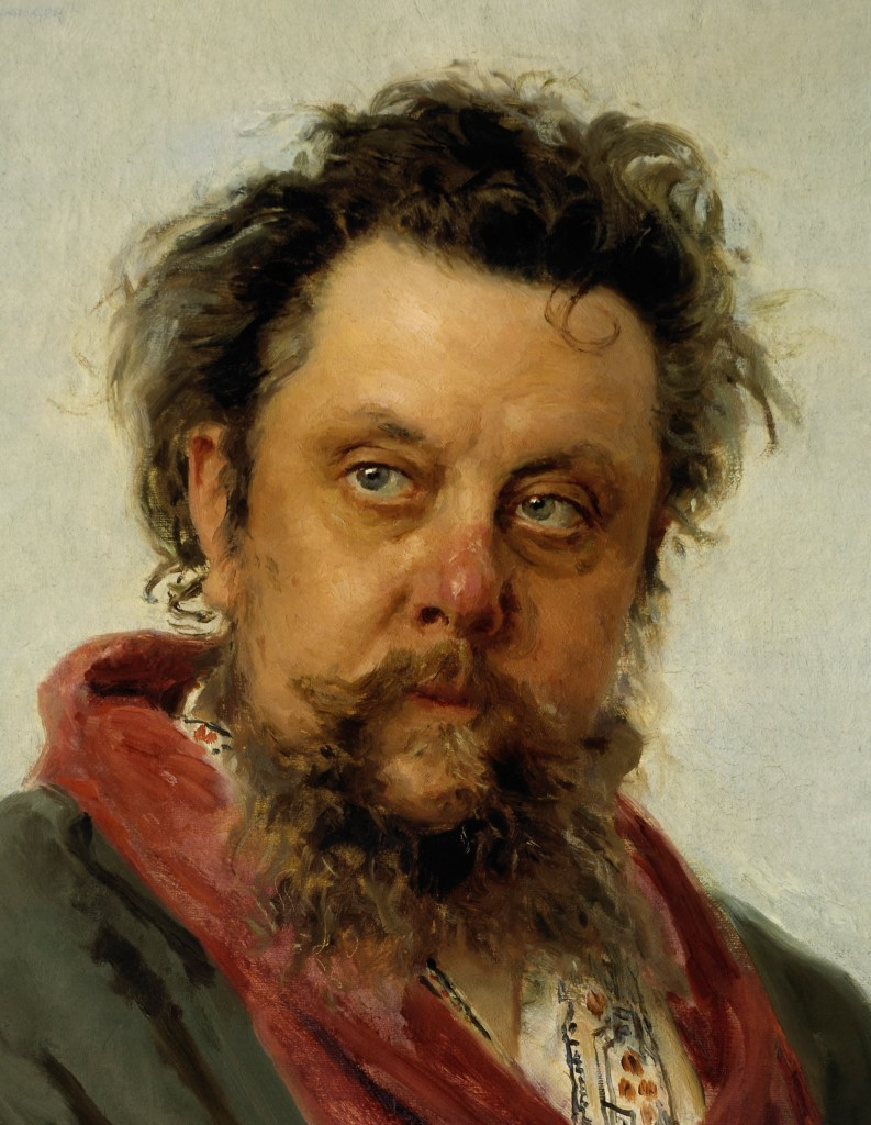 Ilya Repin - M. P. Musorgsky