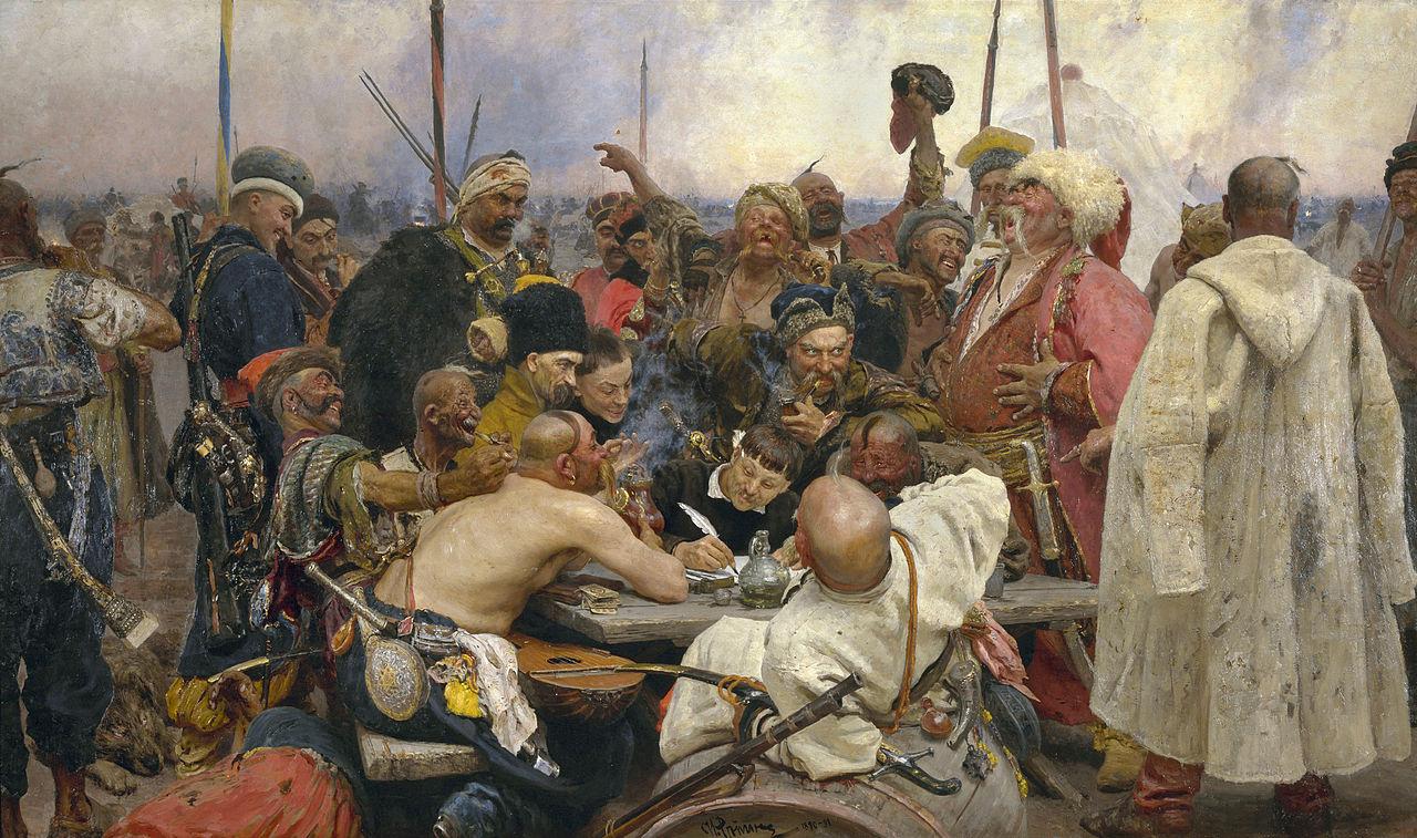 Ilya Repin - Reply of the Zaporozhian Cossacks (1891)