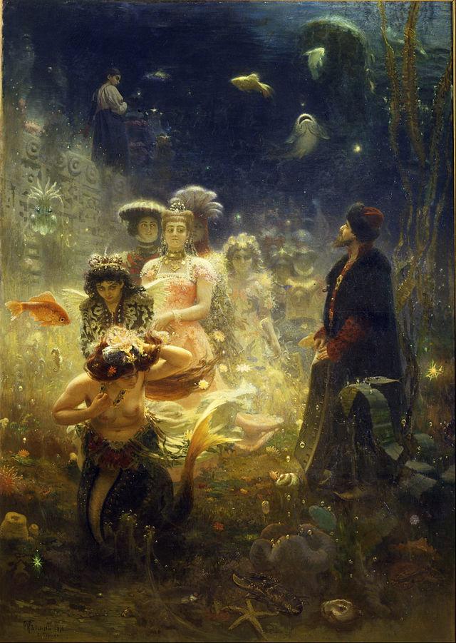 Ilya Repin - Sadko