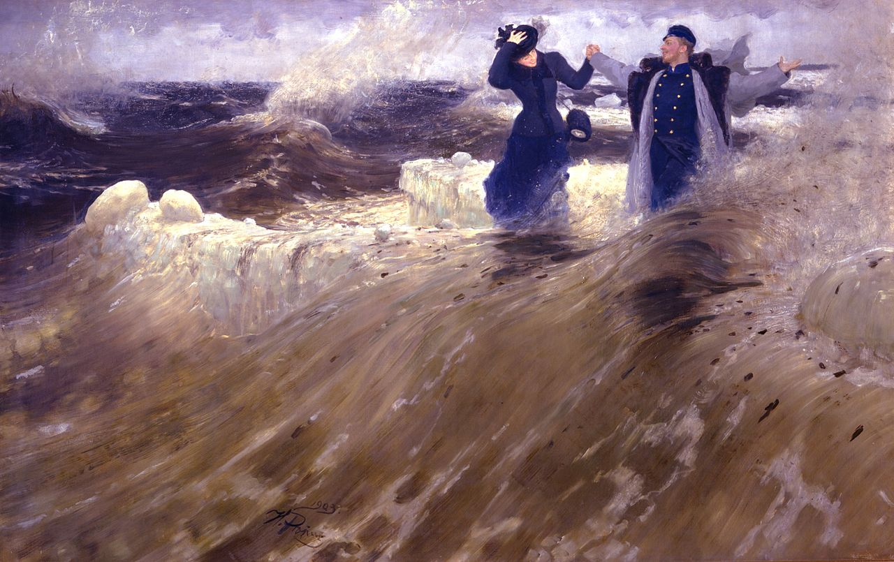 Ilya Repin - What freedom!
