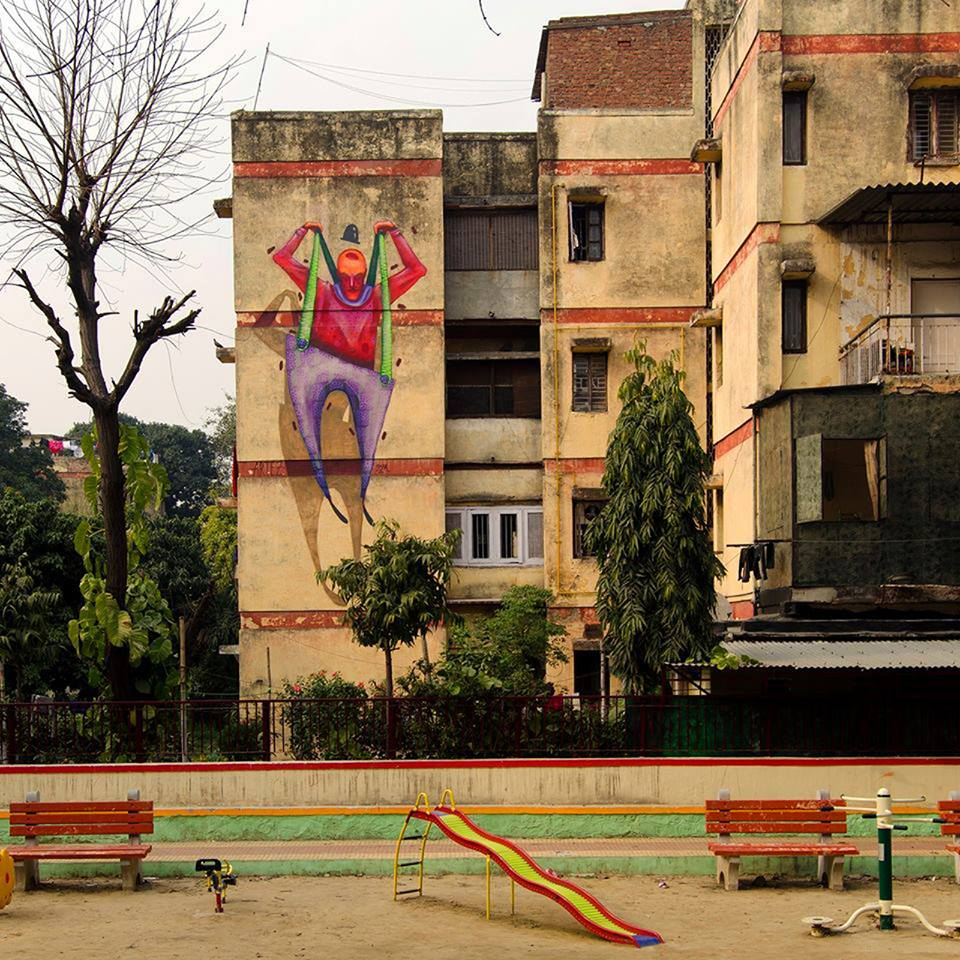 India Graffiti - Delhi - Artez