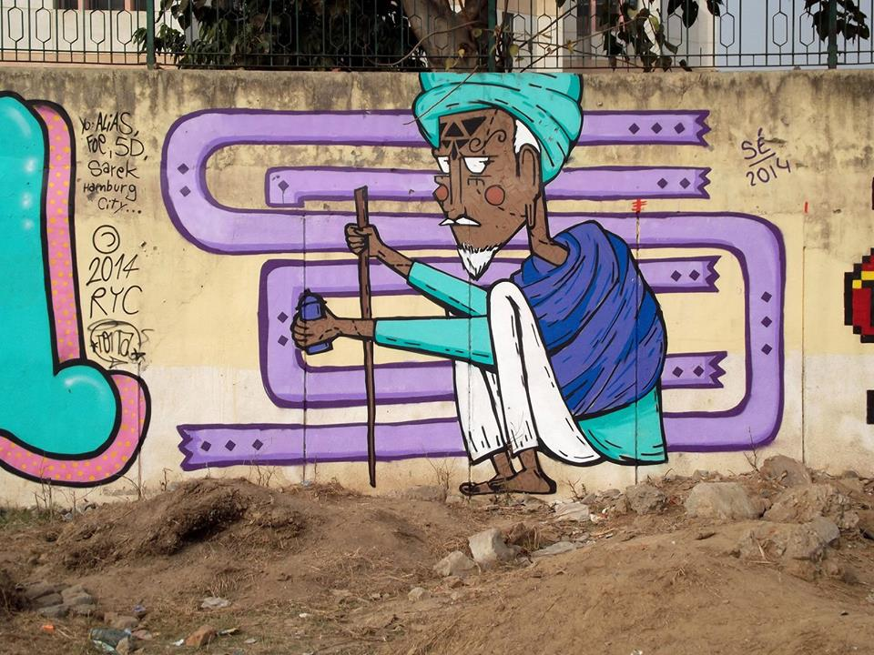 India Graffiti - Delhi - Sergio Cordeiro