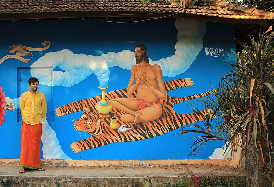 India Graffiti - Kerala - Waone