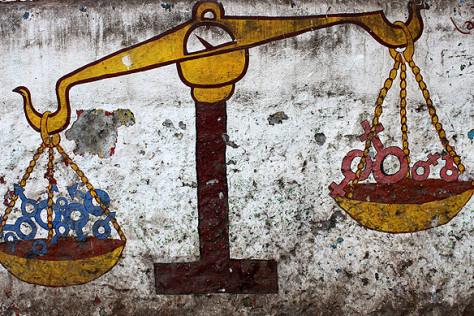India Graffiti - Mumbai - gender inequality