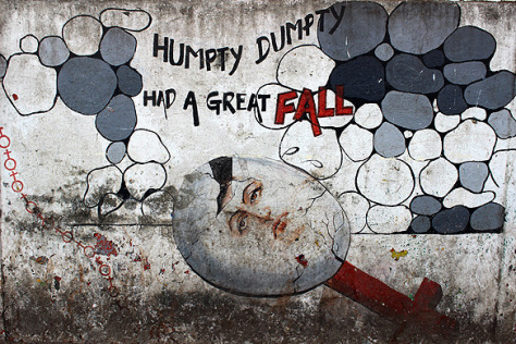 India Graffiti - Mumbai - humpty dumpty sex selection