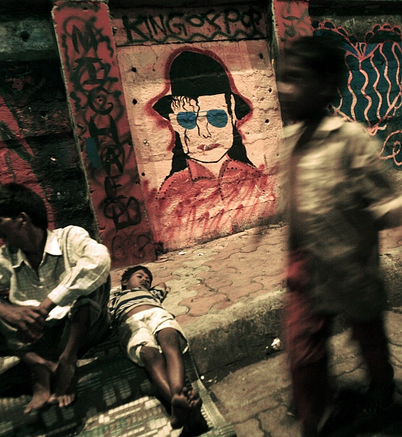 India Graffiti - Mumbai - michael jackson