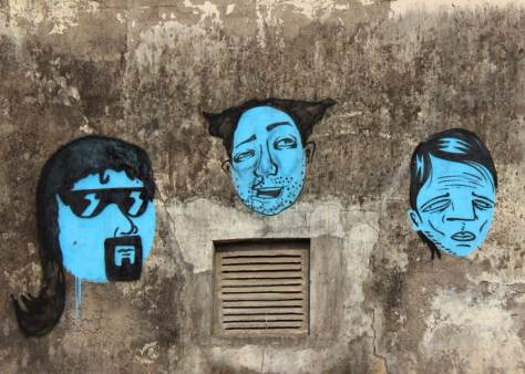 India Graffiti - Random - three men 2
