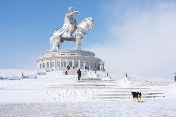 Mongolia Statues - Chinggis Khaan