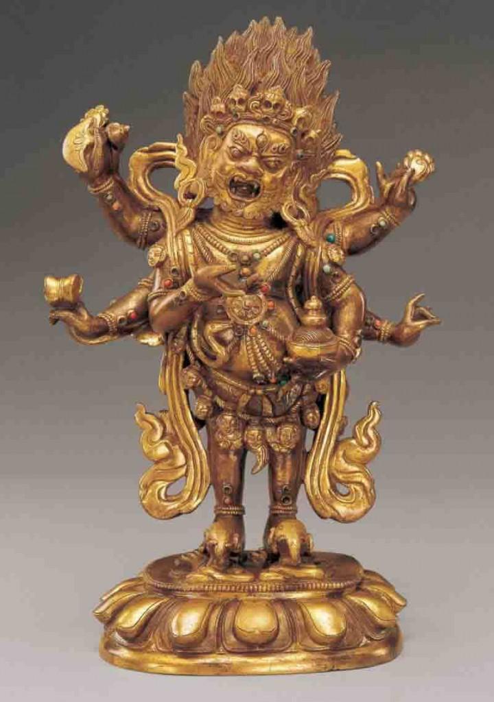 Mongolia Statues - Mongolian Mahakala Statue 4