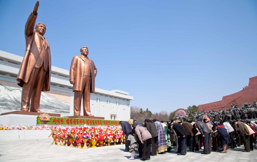 North Korean Human Rights - cult of leader