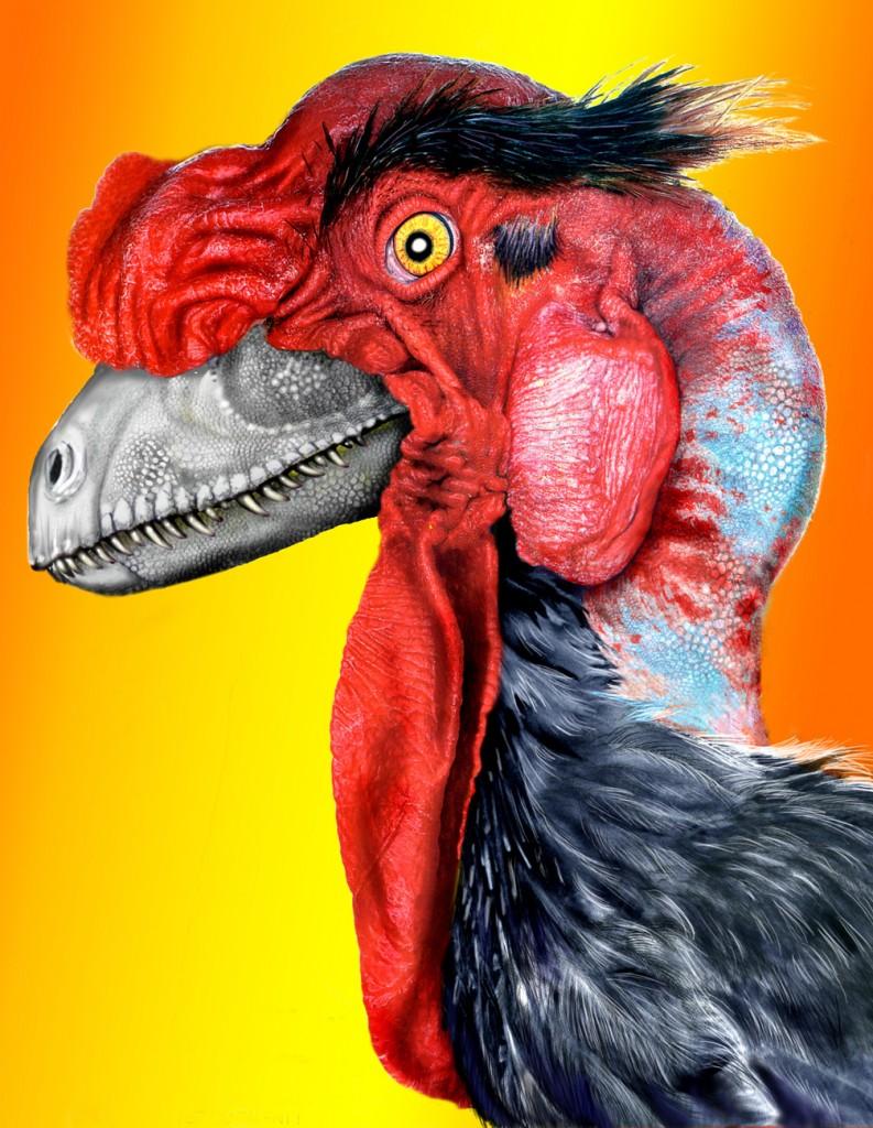 Odd Chick dinosaur depiction