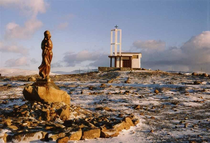 Religion in Antarctica - Chapel of Santisima Virgen de Lujan