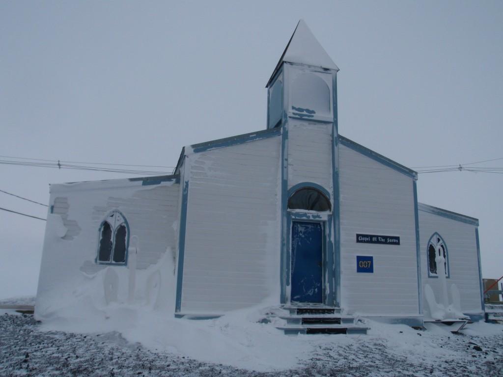 Chapel of the Snows Antarctica