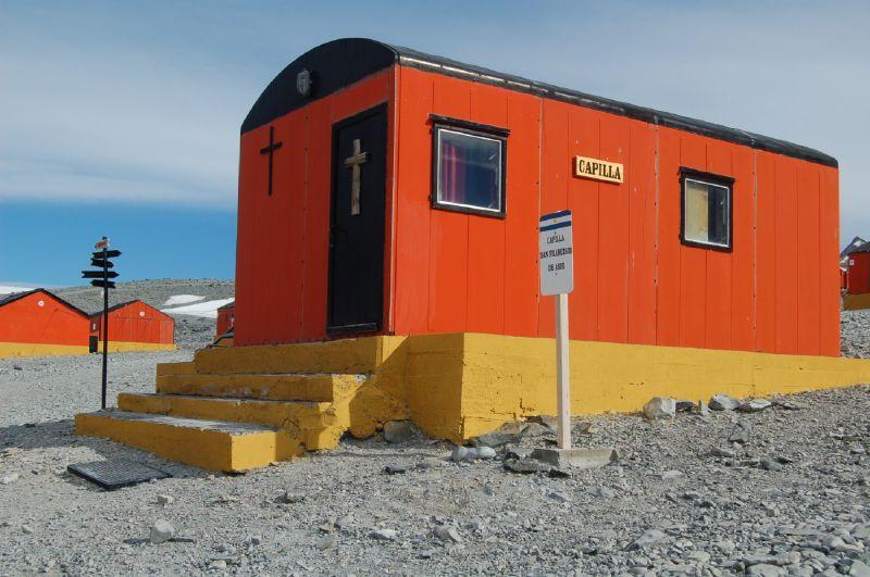 Religion in Antarctica - San Francisco de Asis Chapel