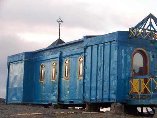 Religion in Antarctica - Santa Maria Reina de la Paz Church