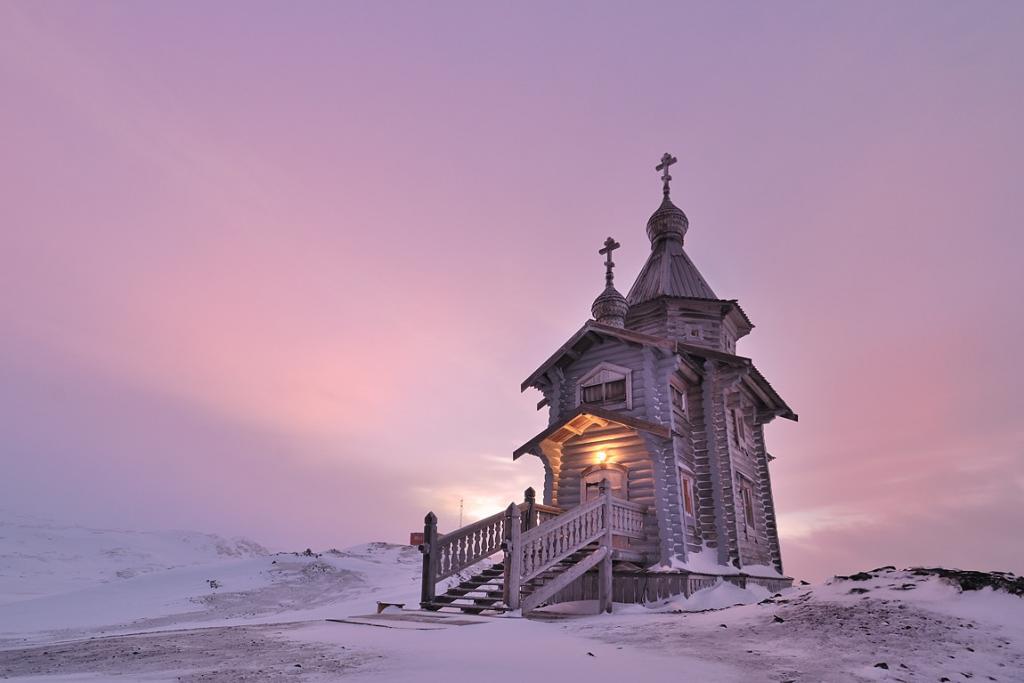 Religion in Antarctica - Trinity Church#