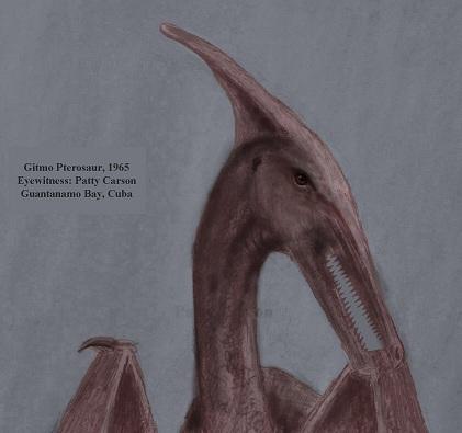 Ropen - Pterosaur Living Dinosaur Patty Carson