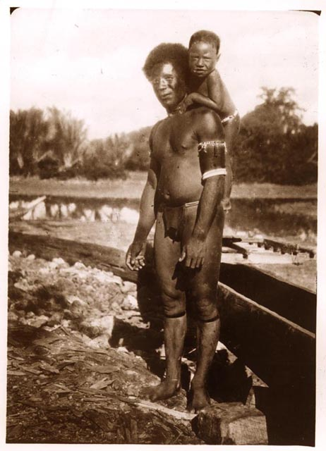 Sea Slug Religion Manus Island man and child