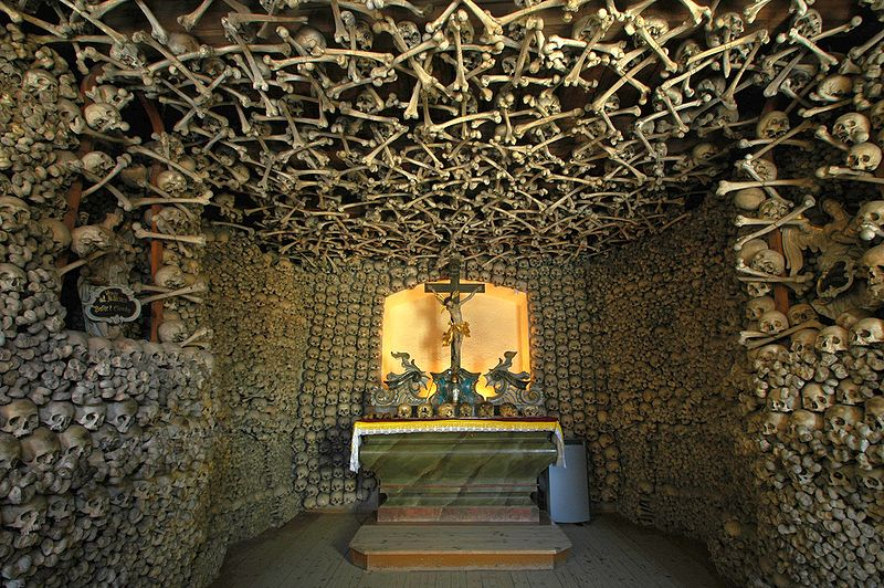 Skull Chapel, Czermna Poland