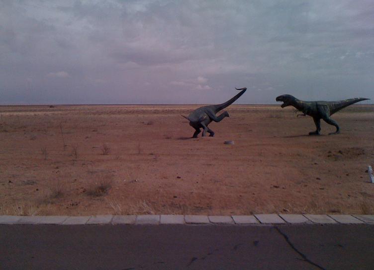 Statues of Mongolia - Dinosaur Fairyland China 2