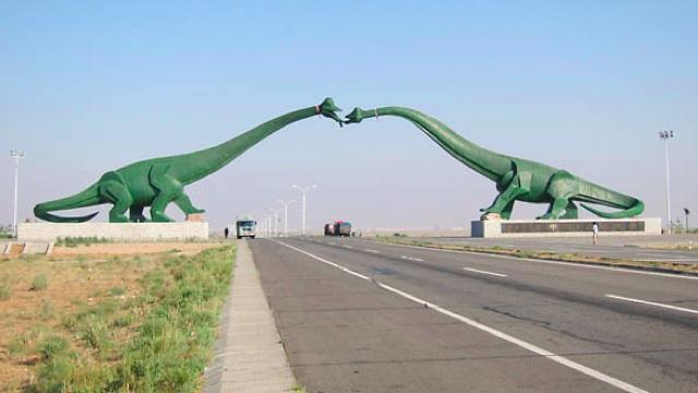 Statues of Mongolia - Dinosaur Fairyland China