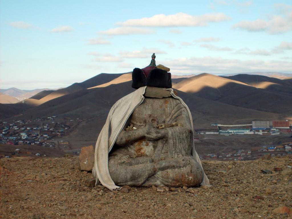 Statues of Mongolia - Small Buddha