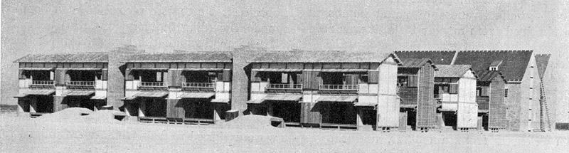 USA WWII Japanese Village Mock Up
