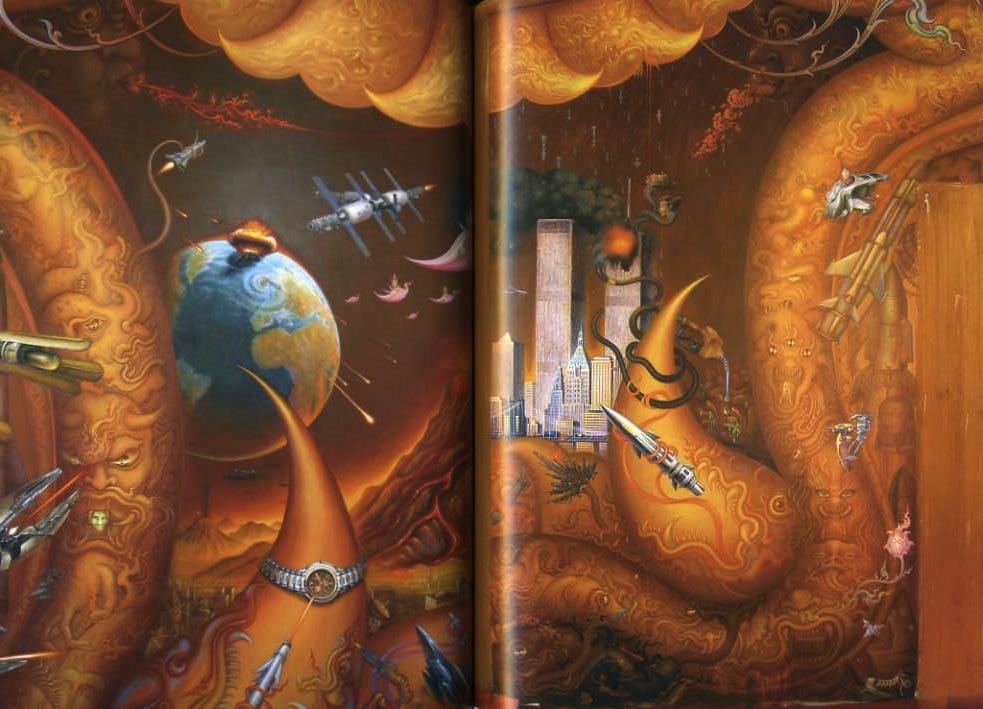 White Temple Thailand - interior - sci fi