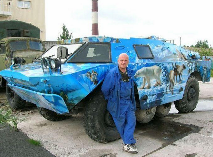 Best Russia Pictures - Awesome Carrier Vehicle
