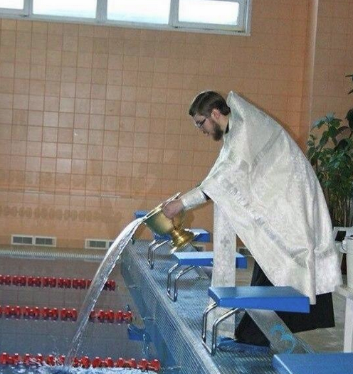 Best Russia Pictures - Blessing The Swimming Pool
