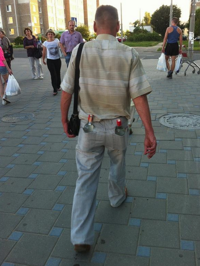 Best Russia Pictures - Booze In Back Pocket