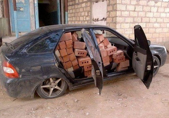 Best Russia Pictures - Brick Transport