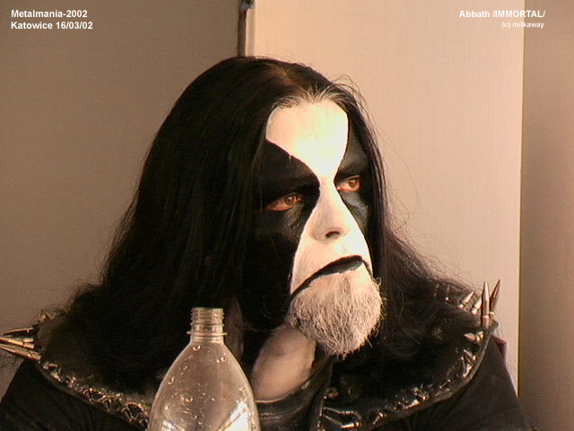 Corpse Paint - Abbath Immortal