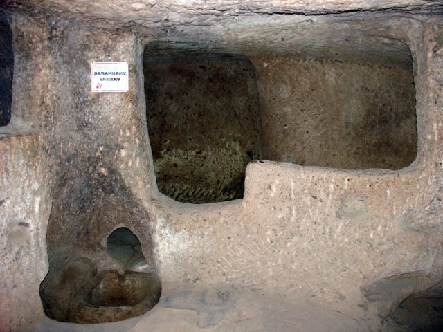 Derinkuyu - underground city - winery