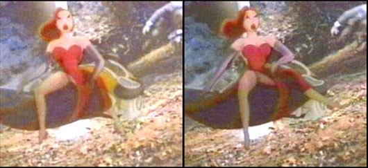 Disney Conspiracy Illuminati - Jessica Rabbit Crotch