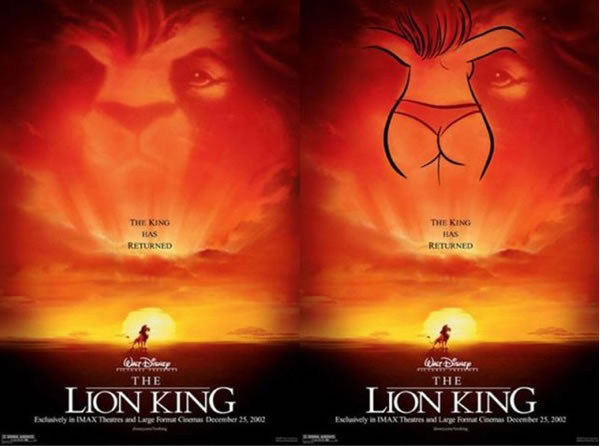 Disney Conspiracy Illuminati - Lion King Subliminal