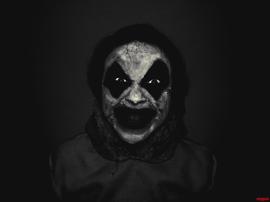 Moppa Dark Art Russia - Clown 2