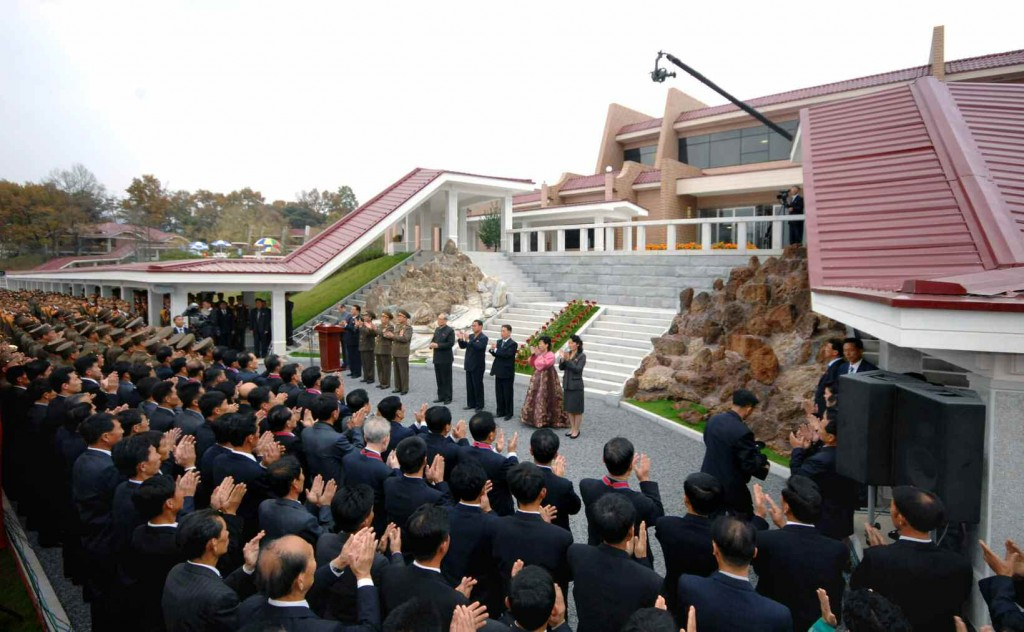 North Korea Yonphung Scientists Rest Home - Opening Ceremony