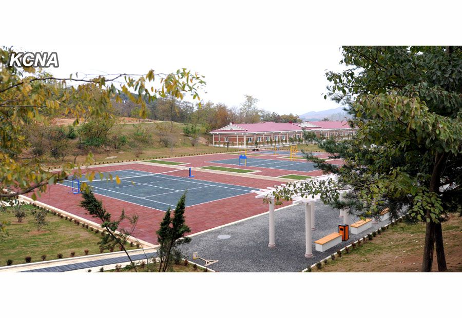 North Korea Yonphung Scientists Tennis